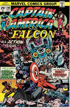 Captain America 1968 1st Series 190 October 1975 by ViewObscura, $7.00