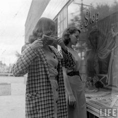 'Teen Agers'  Nina Leen, Life, May 1947 | via LIFE Photo Archive