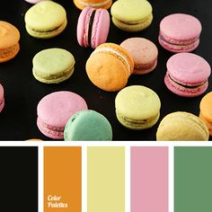 black color, color matching, color solution for house, delicate shades of pink, green color, orange color, pale pink color, pale yellow color