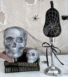 DIY, Kürbis, Halloween, Dekoration Halloween Decorations, Skull, Home Appliances, Pumpkin, Art, Dekoration, Tights, October, Love