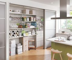 壁面収納パントリー【家づくりブログ】 Home Kitchens, Cabinet Design, Kitchen Design, Interior Inspiration, Interior, Muji Home, Home Decor, Kitchen Storage, Japanese Kitchen