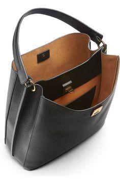 MCM Large Milla Hobo Handbags - All Handbags & Wallets - Bloomingdale's Hobo Purses, Hobo Handbags, Purses And Handbags, Leather Handbags, Leather Purses, Leather Bag Pattern, Leather Bags Handmade, Leather Accessories, Hobo Bag