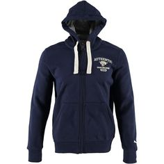 Felpa cappuccio e zip Puma. Disponibile in 2 varianti colore - € 62,50 | Nico.it - #nicoit #puma #hoodies #trendhoodies #menfashion #aw #sweaters