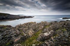 Cold wall by Pietro Bevilacqua on 500px  A view on the beginning of the Geodha Smoo, Durness - Scotland