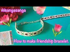 【難】チューリップ柄ミサンガの編み方と図案 - YouTube