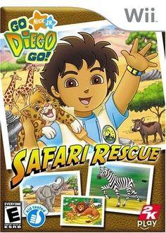GO DIEGO GO - SAFARI RESCUE - WII