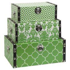 Storage Boxes.