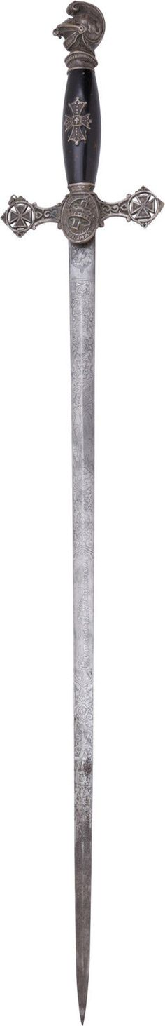 Antique Knights Templar Sword 19th Century Example | eBay