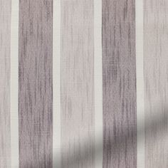 Keats Stripe Washed Damson Roman Blind