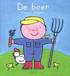 Van 's ochtends vroeg tot 's avonds laat werkt de boer op zijn boerderij. Hij zorgt er voor alle dieren die er wonen. De kippen leggen elke dag een eitje voor hem en de koeien geven hem elke dag verse melk.  De boer werkt ook met zijn grote tractor op het veld. Daar zorgt hij voor maïs, aardappelen en graan. Zo kunnen we elke dag een lekkere boterham eten. Het is de boer die daarvoor zorgt!