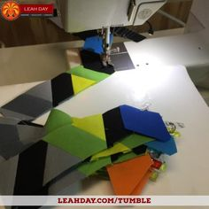 How to make a tumbling blocks quilt