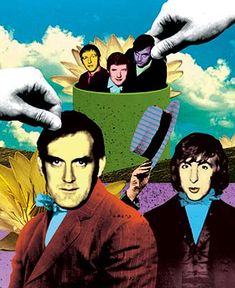Monty Python, animated by Terry Gilliam