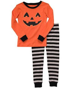 carters kids pajama set toddler boys halloween tee and pants
