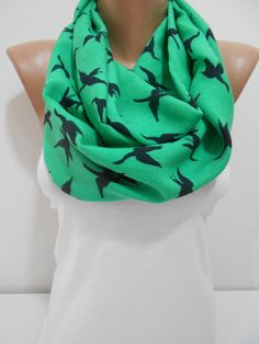 Hey, I found this really awesome Etsy listing at http://www.etsy.com/listing/177958048/bird-print-scarf-st-patricks-day-scarf