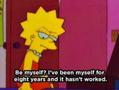 21 Times Lisa Simpson Was So Relatable It Hurt Simpsons Quotes, Cartoon Quotes, The Simpsons, Simpsons Party, Simpsons Meme, Lisa Simpson, Los Simsons, Simpson Wallpaper Iphone, Mood Wallpaper