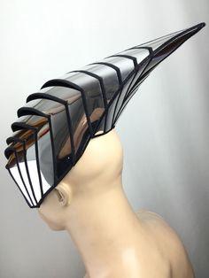Avispa inspirado cyborg mascara casco robot armadura sci por divamp