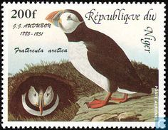 Postage Stamps - Niger - Birds