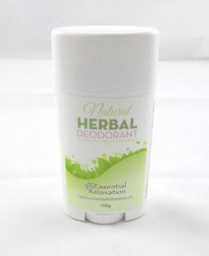Natural herbal deodorant - the only natural deodorant I've found that really works! made in Ontario