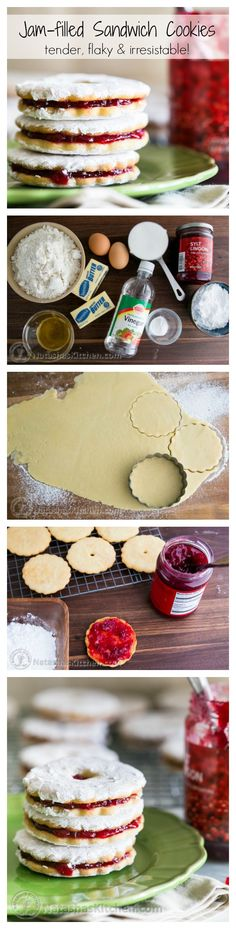 The jam filled center softens these cookies making them tender, flaky and irresistible. @natashaskitchen
