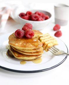 Coconut Flour Cookies, Coconut Flour Pancakes, Coconut Flour Vegan Recipes, Low Carb Recipes, Cooking Recipes, Healthy Recipes, Easy Recipes, Dairy Free Pancakes, Pancakes Easy