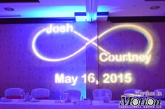 Milwaukee Wedding Monogram Crowne Plaza