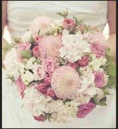 Color of bridal bouquet