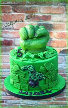 Incredible hulk cake cakes cake decorating daily inspiration hulk cake on cake central pronofoot35fo Choice Image
