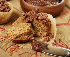 Paleo pumpkin streusel muffins