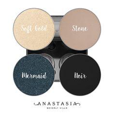 ABH Eyeshadows. Anastasia Beverly Hills Eyeshadows #anastasianordics
