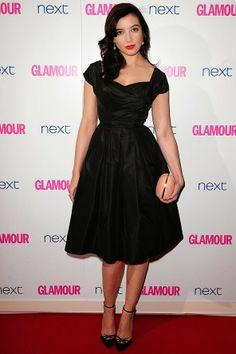 a341720d23be Tres chic  Daisy Lowe looked classy in retro black dress while Paloma Faith  looked sensati