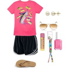 Going to camp tomorrow, created by preppyperalgal on Polyvore
