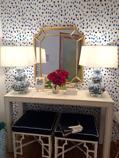 blue and white and chinoiserie!