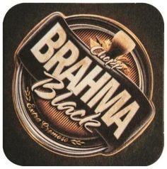 Brahma Black bolacha de chopp