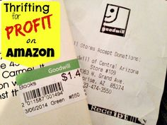 See what I buy at the thrift stores and resell on Amazon for huge profits!!