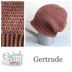Tunella's Geschenkeallerlei präsentiert: das ist Gertrude, eine geniale gehäkelte Haube/Mütze aus einer Alpaka/Wolle/Acryl-Mischung - du kannst dich warm anziehen, dank sorgfältigem Entwurf, liebevoller Handarbeit und deinem fantastischen Geschmack wirst du umwerfend aussehen #TunellasGeschenkeallerlei #Häkelei #drumherum #Beanie #Pudelhaube #Haube #Mütze #Alpaka #Wolle #Gertrude