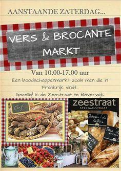 Vers en Brocante Markt 5 april 2014 Zeestraat Beverwijk