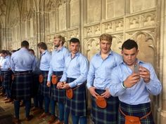Scotland's very own rugby team.