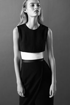 maartje verhoef by josh olins for narciso rodriguez pre-fall 2015