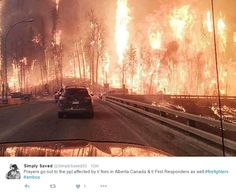 Eyewitnesses Share Horrific Photos Of Apocalyptic Fire - Oilpro.com