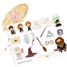 Harry Potter sticker life planner sticker for kikki k Planner Stickers, Kikki K, Harry Potter Stickers, Harry Potter Merchandise, Personal Planners, Shops, Erin Condren, Kawaii, Life Planner
