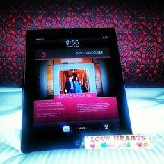 OPUS Hotel in-room Apple iPad