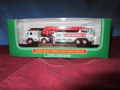 2010 Hess Miniature Fire Truck