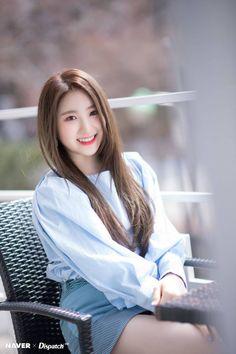 [📷] 190404 Naver x Dispatch - Lee Chaeyeon Kpop Girl Groups, Korean Girl Groups, Kpop Girls, K Pop, Yuri, My Girl, Cool Girl, Namjoo Apink, Japanese Girl Group