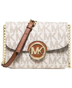 0856360ee433 MICHAEL Michael Kors Fulton Flap Gusset Crossbody Handbags   Accessories -  Macy s