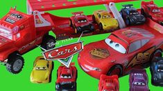 MEGA Collection of Disney Cars 3 with Lightning McQueen, Cruz Ramirez, Jackson Storm Cruz Ramirez, Disney Cars 3, Mack Trucks, Lightning Mcqueen, Car Videos, Pixar, Sprouts, Cool Kids, The Creator