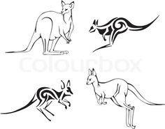 Kangaroo Black And White Outline - Kangaroo Outline Clip Art Kangaroo . Animals Drawing Images, Animal Drawings, Kangaroo Drawing, Kangaroo Logo, Australia Tattoo, Custom Painted Shoes, Drawing Clipart, Farm Logo, Collage