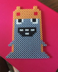 Hop Rock Slug from Slugterra Perler Beads, Pixel Beads, Perler Patterns, 8th Birthday, Archie, Baby Love, Pixel Art, Pokemon, Lunch Box