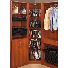 Rev-A-Shelf RCLSZ-W5-96-1 5 Tier Women's Lazy Shoezen with Shaft Closet | Jet.com