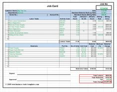 Workshop Job Card Template Excel, Labor & Material Cost Estimator with regard to Job Cost Report Template Excel - Template Ideas Excel Budget Template, Business Plan Template, Report Template, Budget Spreadsheet, Invoice Template, Best Templates, Card Templates, Banner Template, Maintenance Jobs