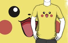 Pika Pika Face by LucasJackson